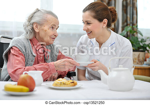 Nursing home - csp13521250
