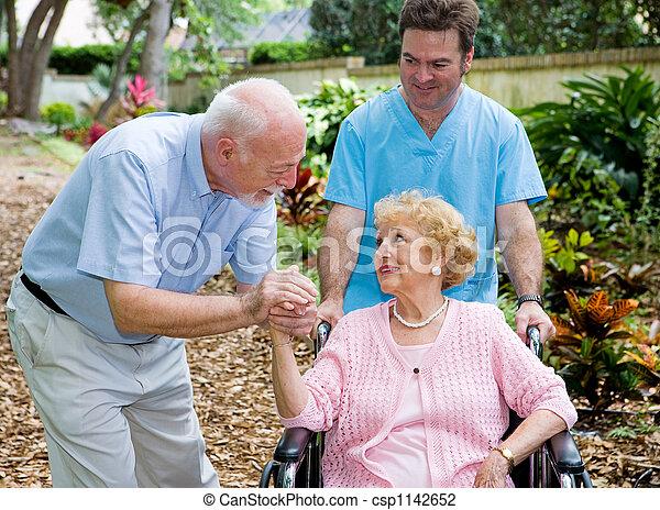 Nursing Home Visit - csp1142652