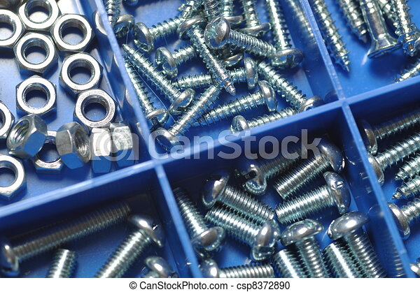 Nut and bolt - csp8372890
