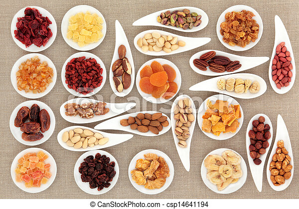 Nut and Fruit Sampler - csp14641194