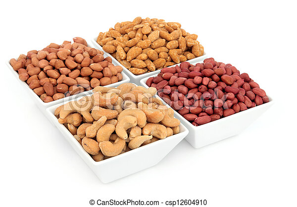 Nut Selection - csp12604910