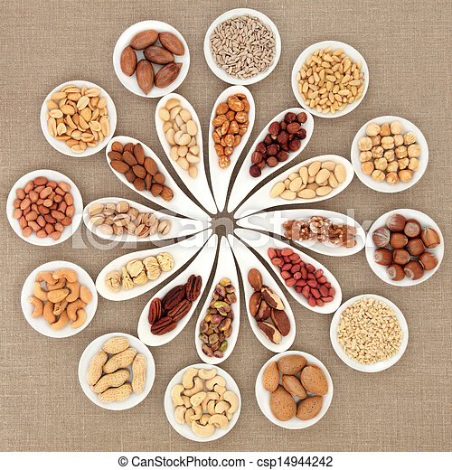 Nut Selection - csp14944242