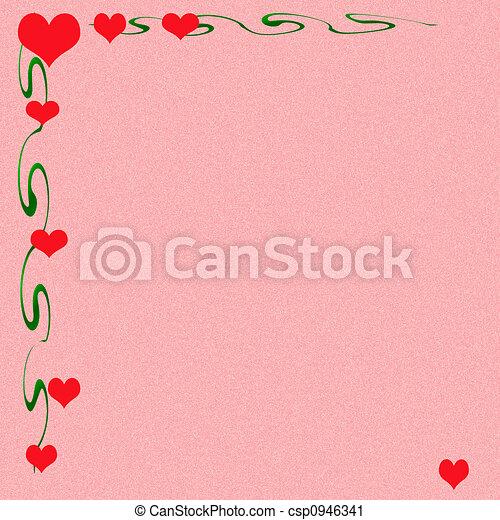 nuta, miłość, valentine - csp0946341