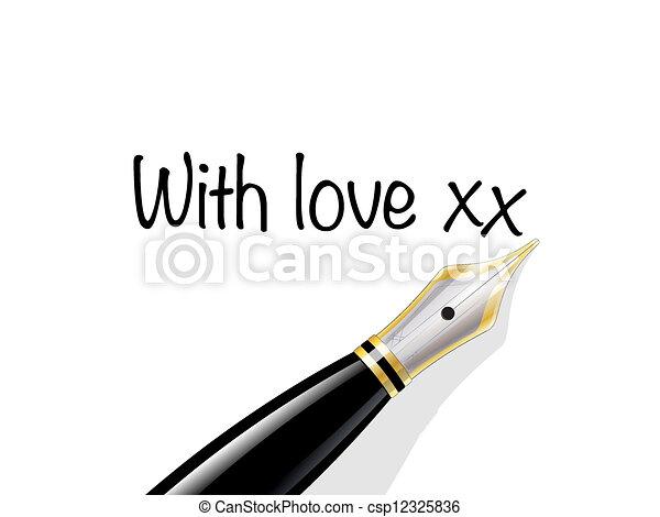 nuta, miłość - csp12325836
