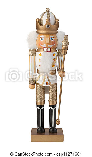 Nutcracker Isolated - csp11271661