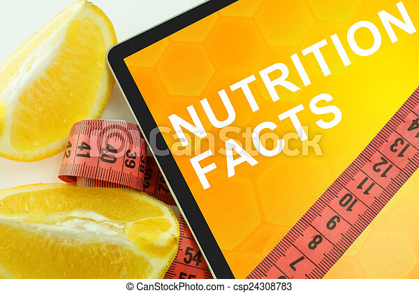 nutrition facts - csp24308783