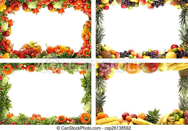 Nutrition frames - csp26138562