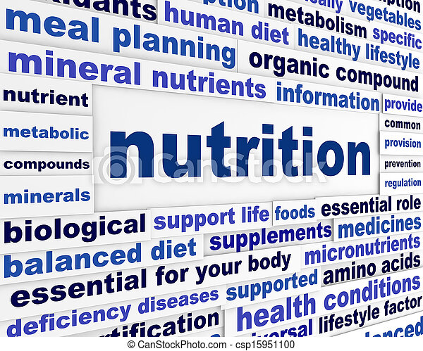 Nutrition healthy life style - csp15951100