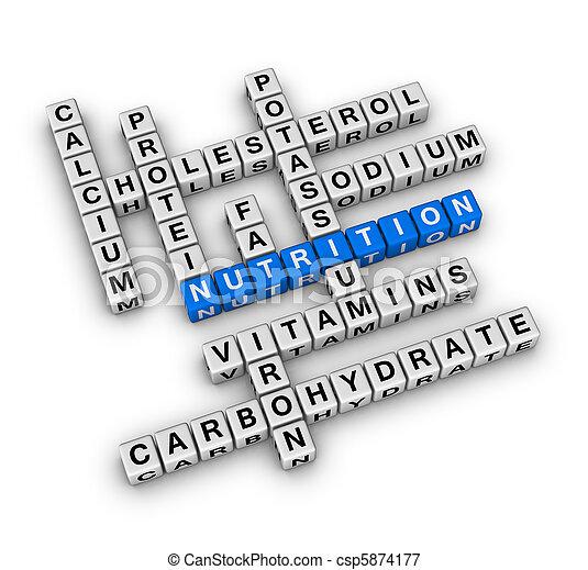 Nutrition Ingredient - csp5874177