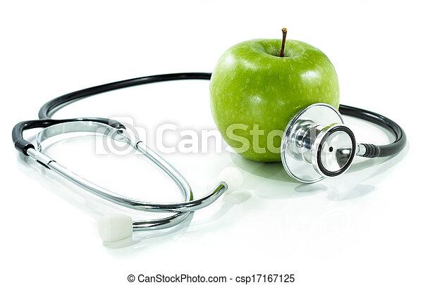 nutrition, protéger, santé, ton - csp17167125