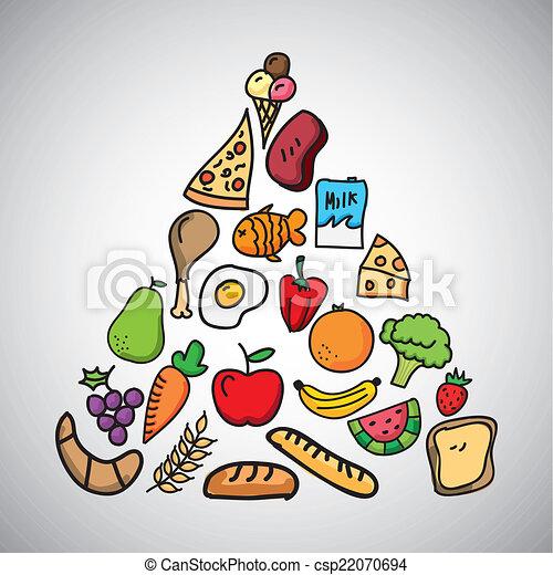 nutrition Vector - csp22070694