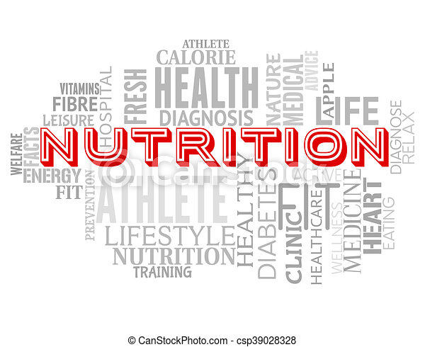 nutrition words means diets diet and sustenance nutrition words