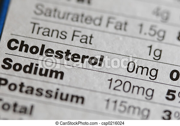 Nutritional Label - csp0216024