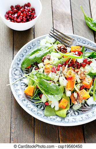 nutritious salad - csp19560450