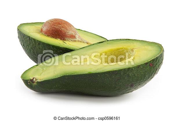 Fruta nutritiva con aguacate - csp0596161