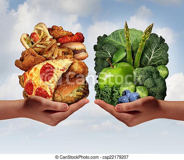 nutrizione, scelta - csp22179207