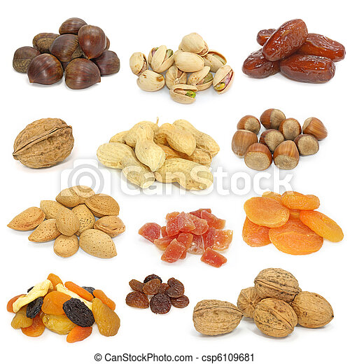 nuts and dried fruits - csp6109681