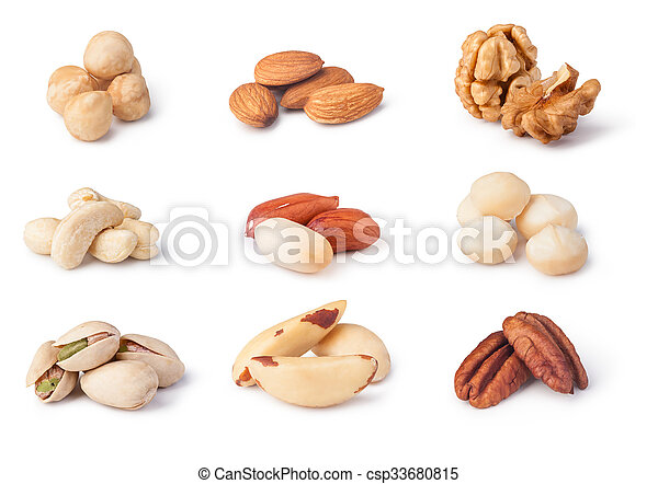 Nuts collection - csp33680815