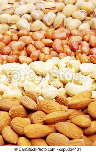 nuts collection - csp6034401