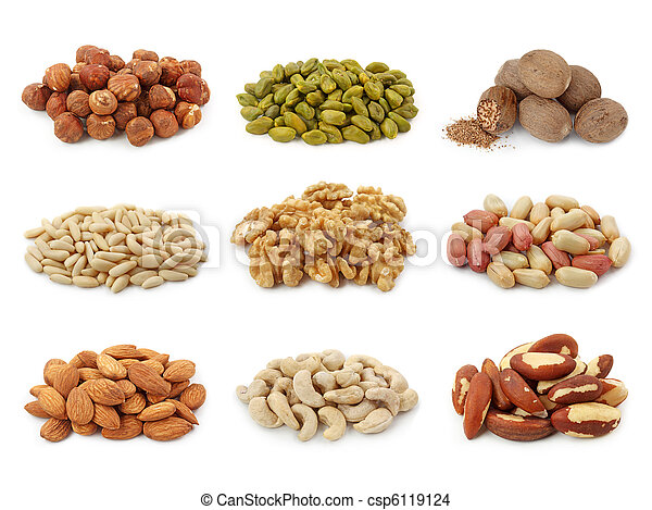 Nuts collection - csp6119124