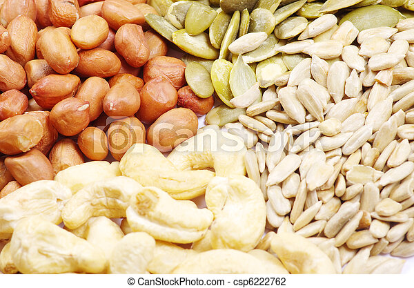 nuts collection - csp6222762