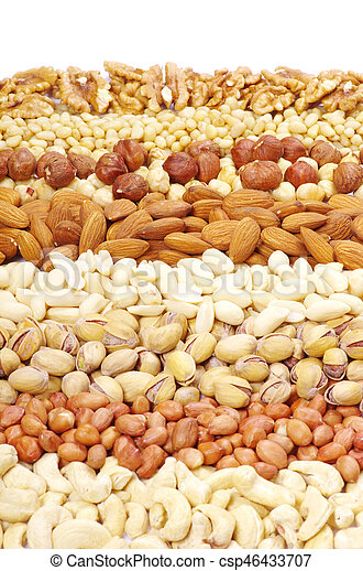 nuts collection - csp46433707