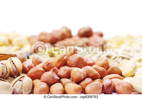 nuts collection - csp6306763