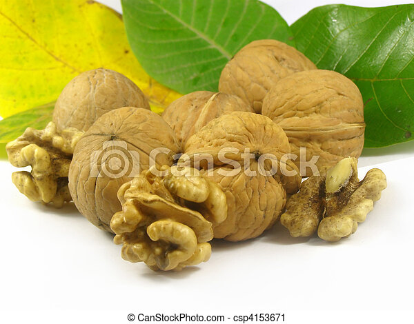 nuts fruits - csp4153671