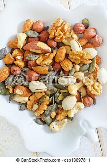 nuts - csp13697811