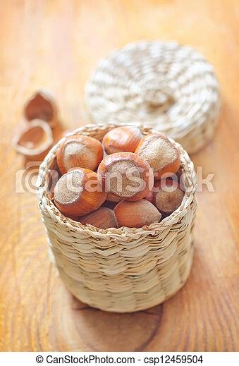nuts - csp12459504