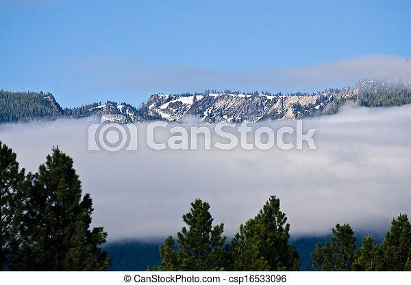 nuvens, acima - csp16533096
