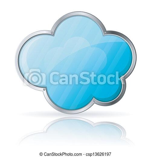 nuvola - csp13626197