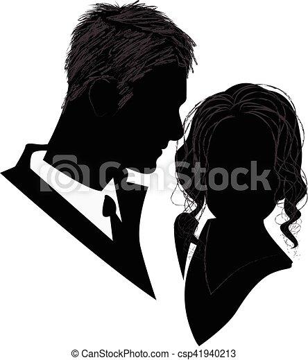datazione coppia silhouette vettoriale Namibia incontri single
