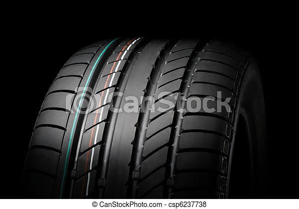 nyár sport, autógumi - csp6237738