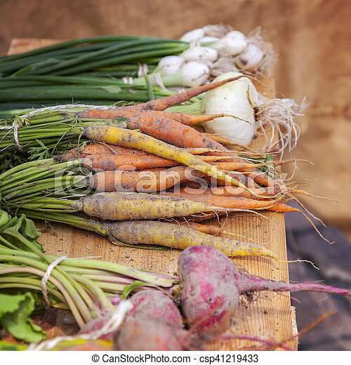 nya vegetables, rot - csp41219433