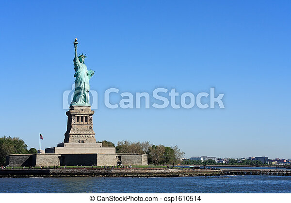 nyc, -, 雕像, 自由 - csp1610514