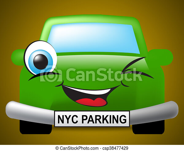 Nyc Parking Means New York City And Automotive - csp38477429