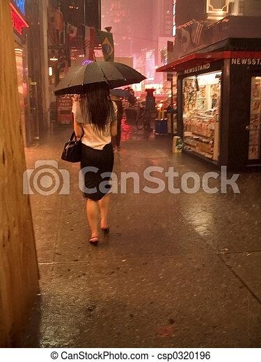 NYC Rain 2 - csp0320196