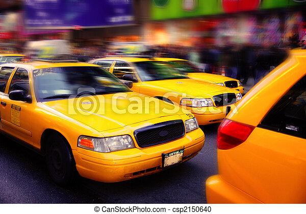 Taxis de Nueva York - csp2150640