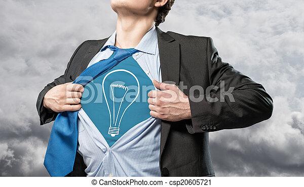 nye ideer, firma - csp20605721