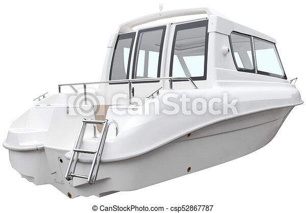 nymodig, boat., stuga - csp52867787