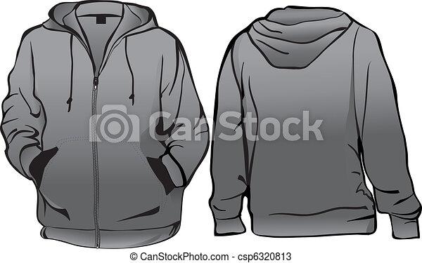 Chaqueta o camiseta con cremallera - csp6320813