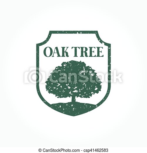 A Simple Oak Tree Logo Set For Your Business That Quite Vector