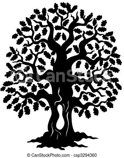 Oak Tree Clip Art And Stock Illustrations 25523 Oak Tree Eps