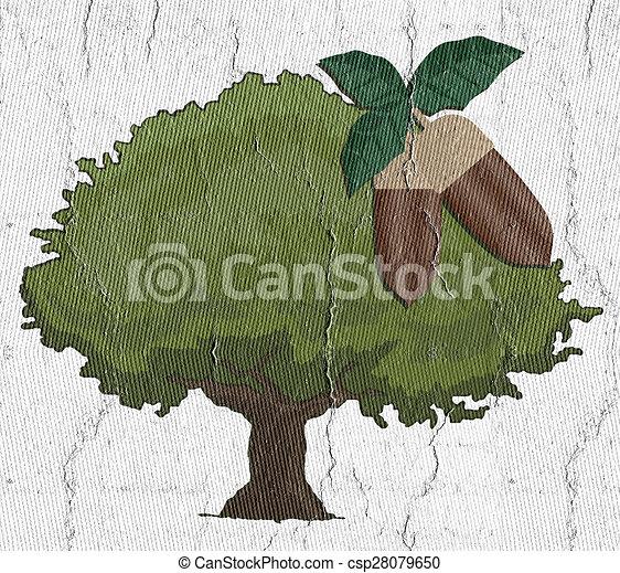 Oak tree - csp28079650