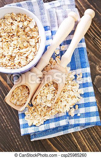 oat flakes - csp25985260