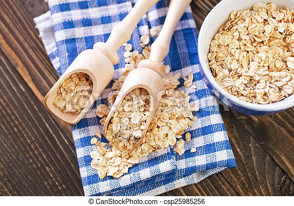 oat flakes - csp25985256