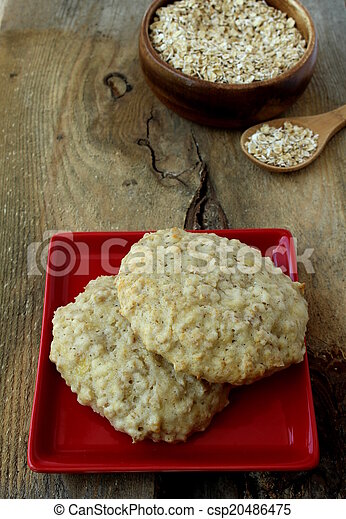 Oatmeal cookie - csp20486475