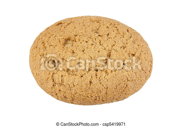 Oatmeal cookie - csp5419971