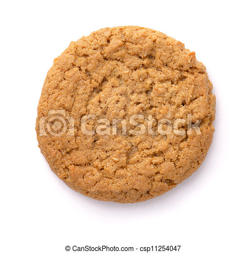 Oatmeal cookie - csp11254047